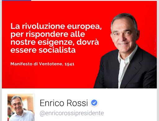 Enrico Rossi e la strumentalizzazione di Ventotene