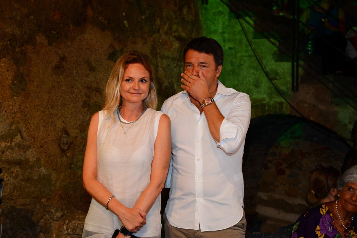 Matteo Renzi e Sarah Varretto