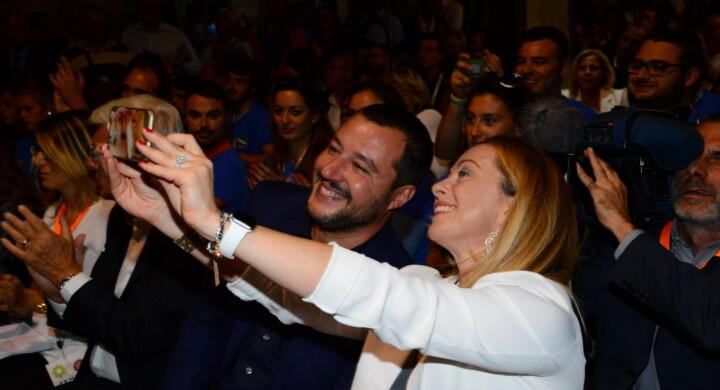 Matteo Salvini e la nuova mappa della destra, fra Giorgia Meloni e Roberto Maroni