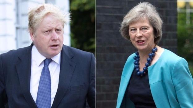 Resa dei conti tra Theresa May e Boris Johnson?