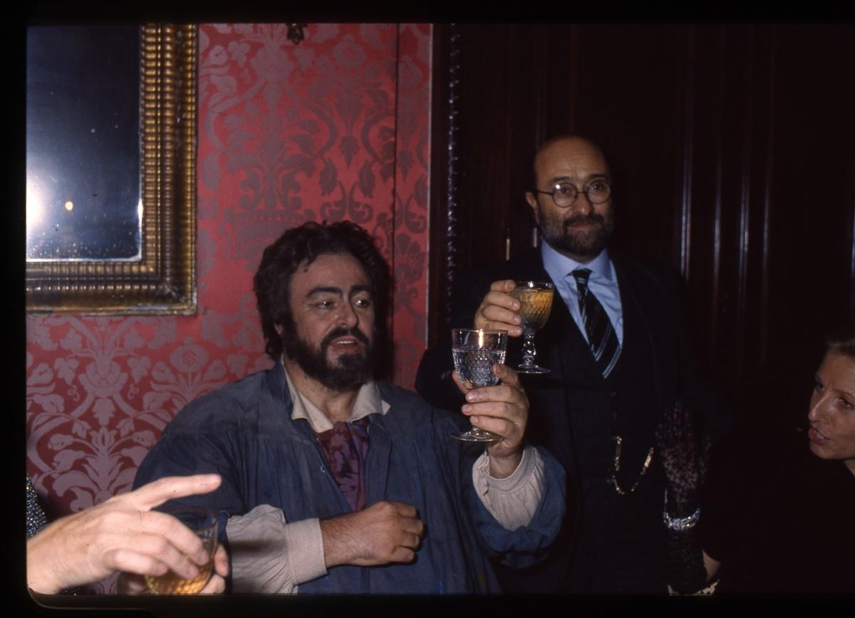 Luciano Pavarotti, Lucio Dallla