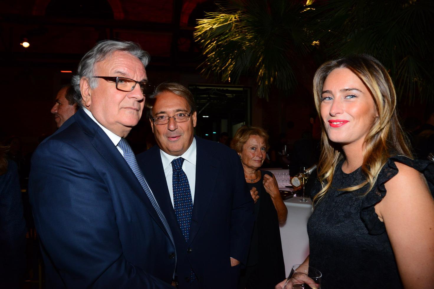 Roberto Napoletano, Maria Elena Boschi