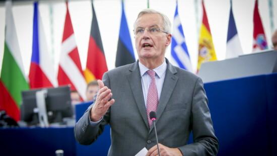 Consiglio europeo, MICHEL BARNIER CAPO NEGOZIATORE BREXIT