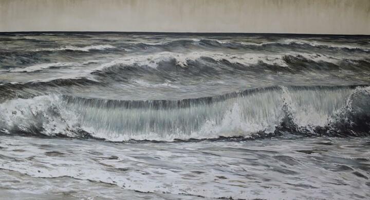 Il mare in galleria. A Borgo, a due passi dal Vaticano, onde a regola d'arte