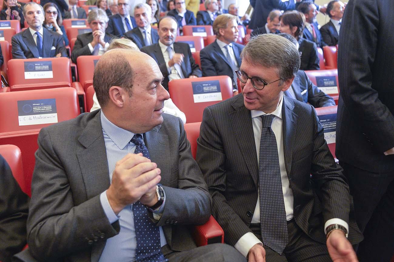 Nicola Zingaretti, Raffaele Cantone
