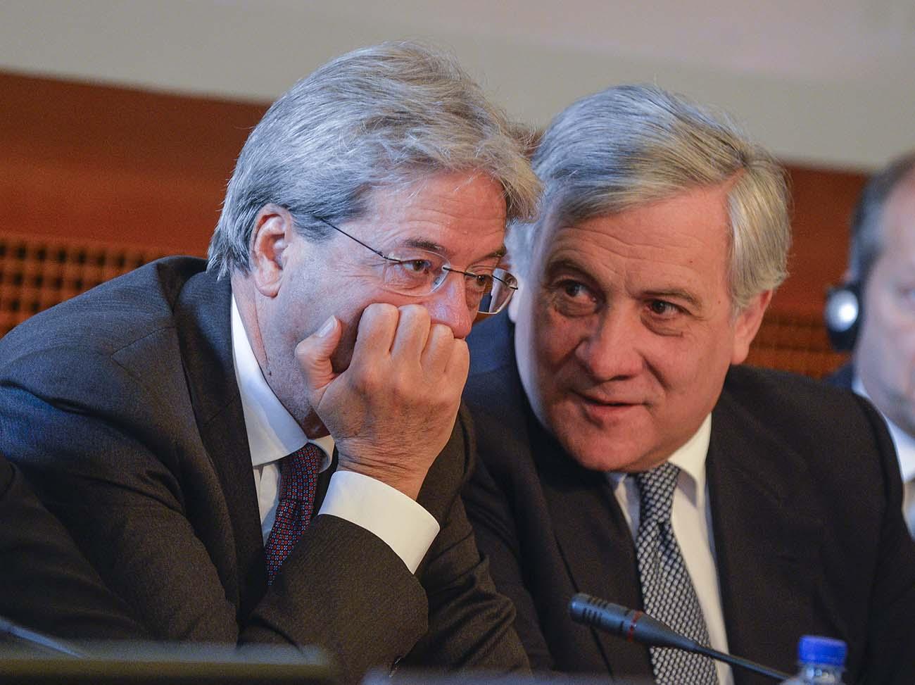 Paolo Gentiloni, Antonio Tajani