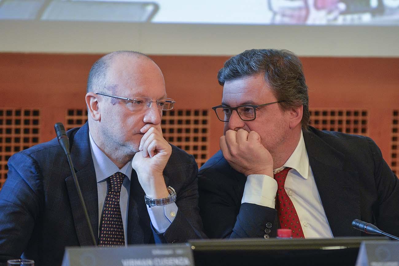Vincenzo Boccia, Carlo Calenda