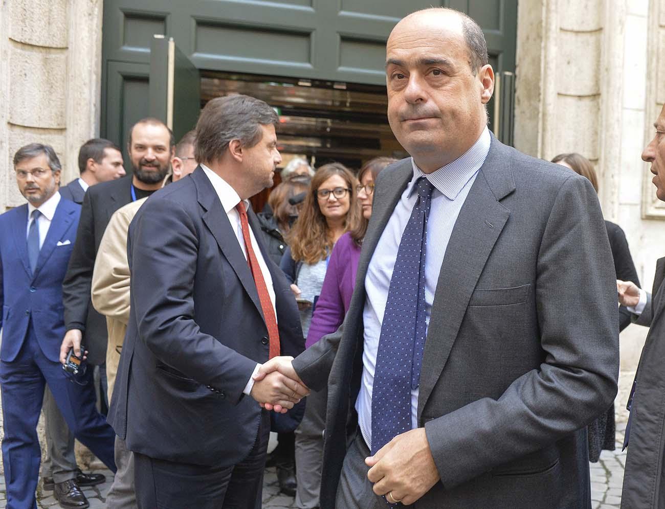 Carlo Calenda, Nicola Zingaretti
