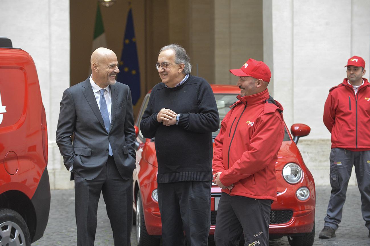 Claudio Descalzi, Sergio Marchionne