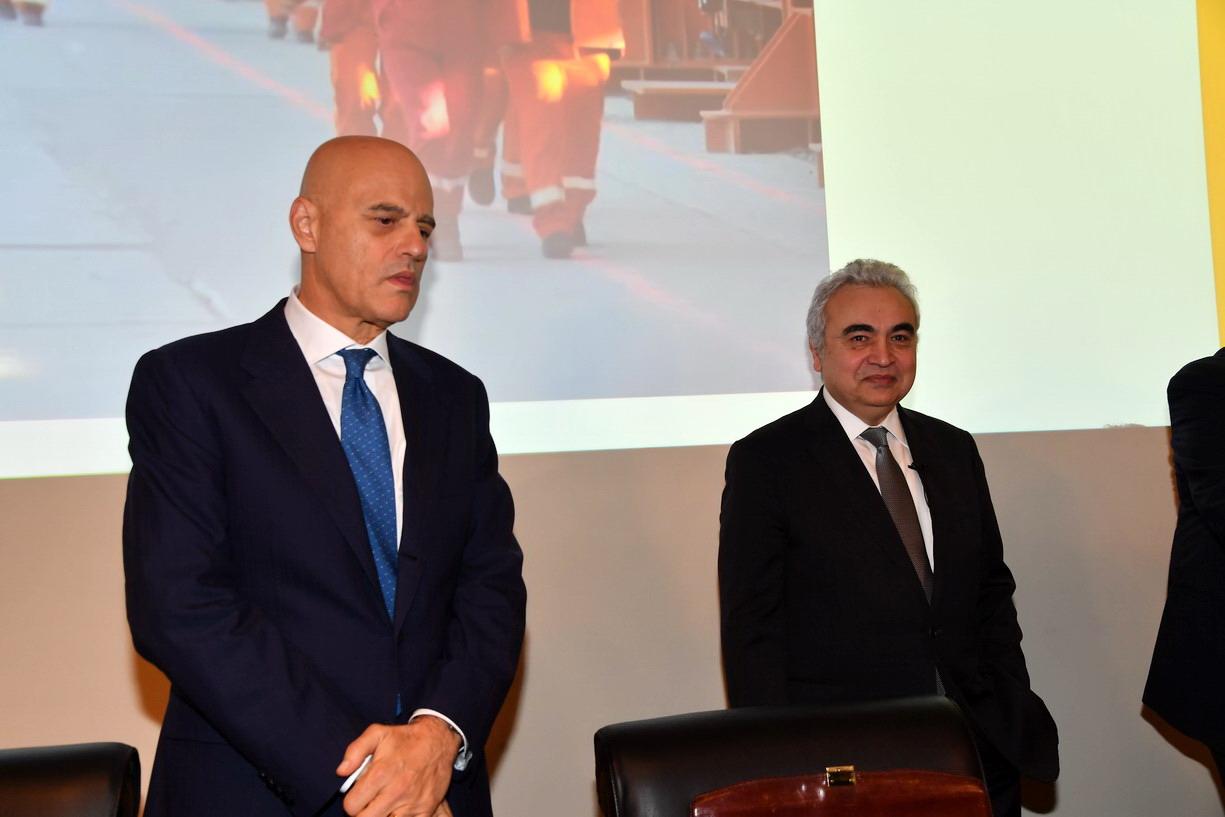 Claudio Descalzi Fatih Birol