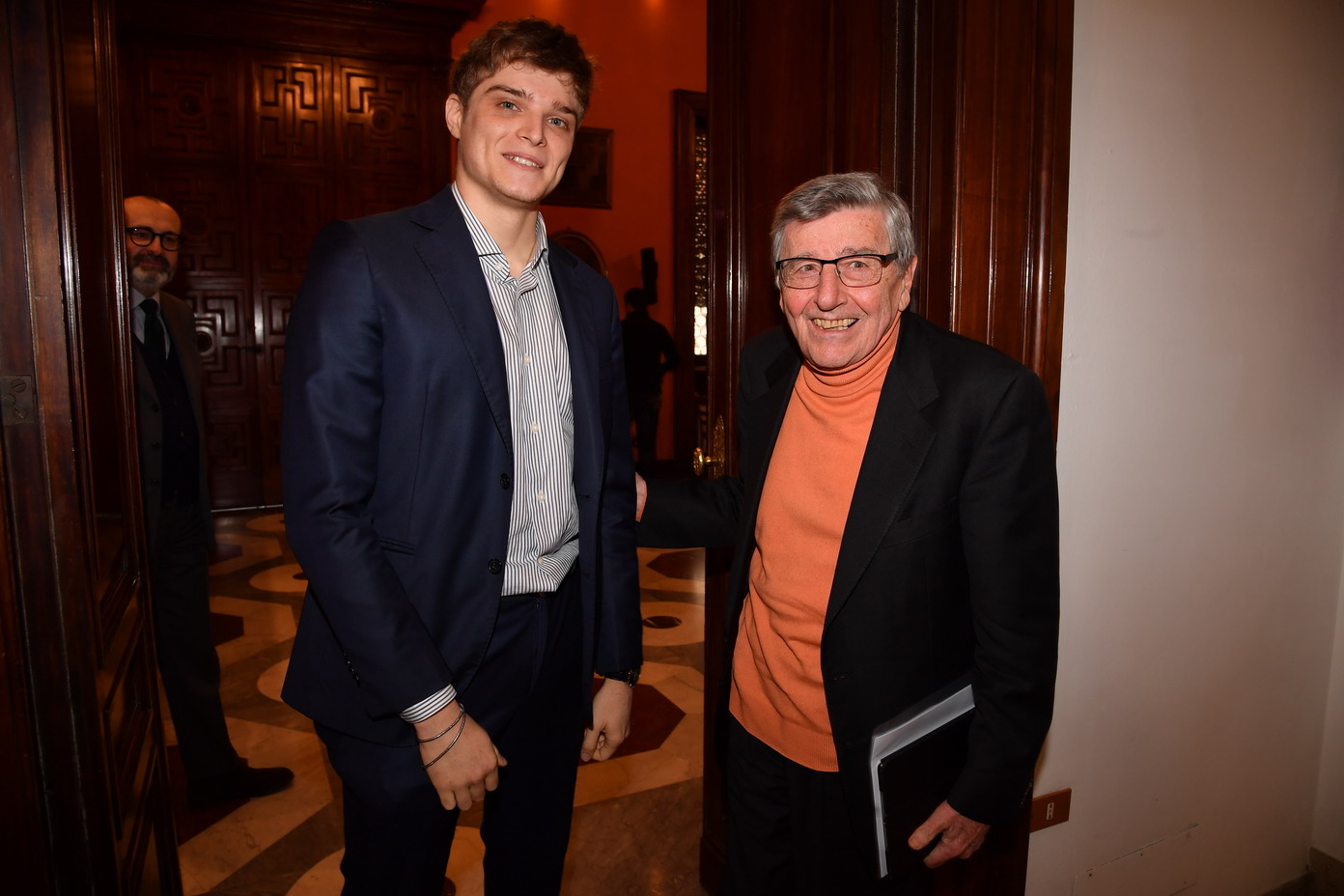 Francesco Bechis e Vincenzo Scotti