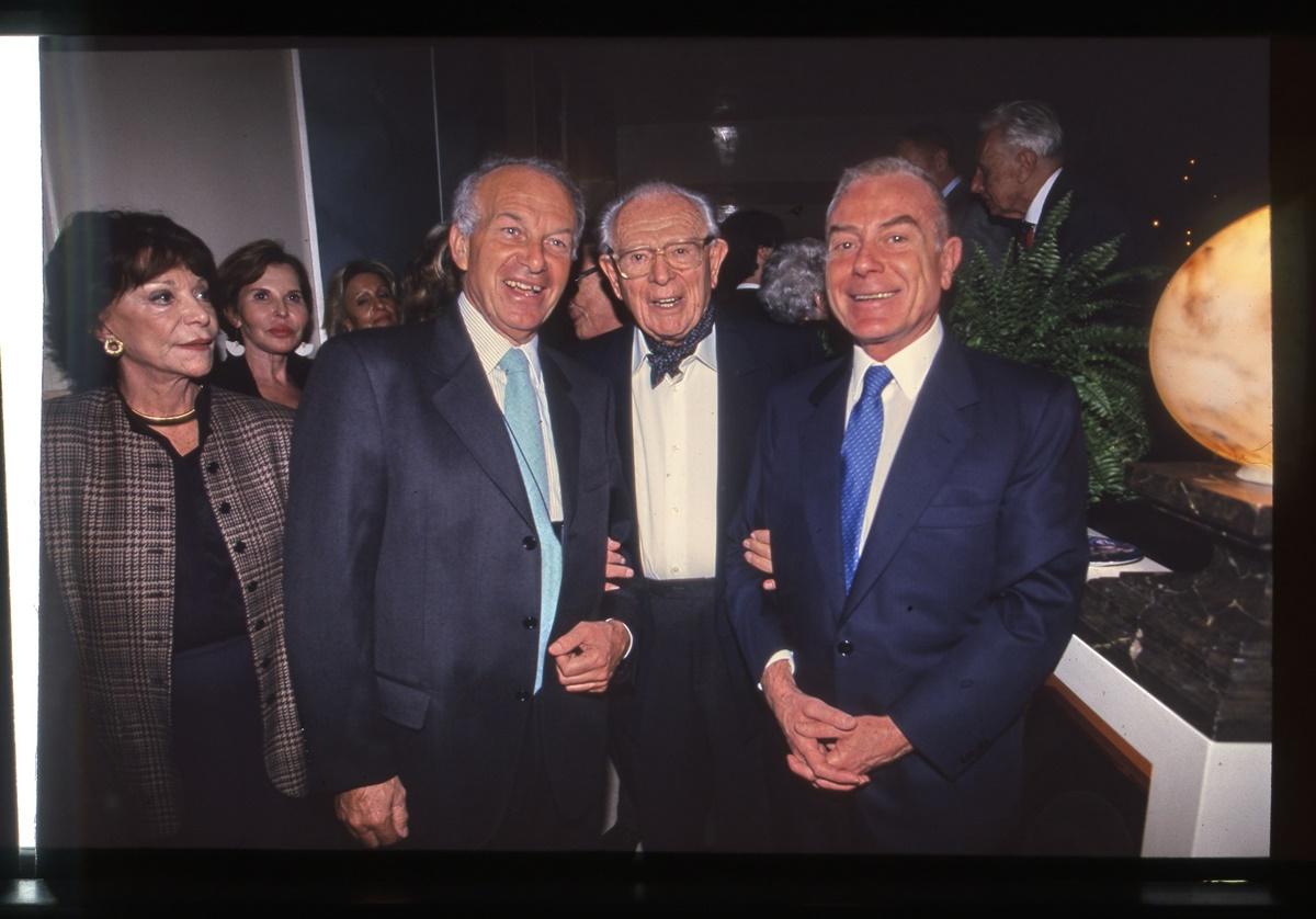 Fausto Bertinotti, Giovanni Bollea, Gianni Letta