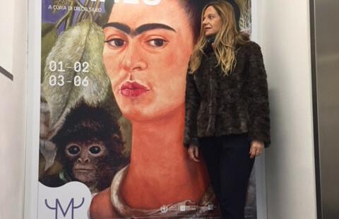 Fabiola Cinque FRIDA KHALO mostra