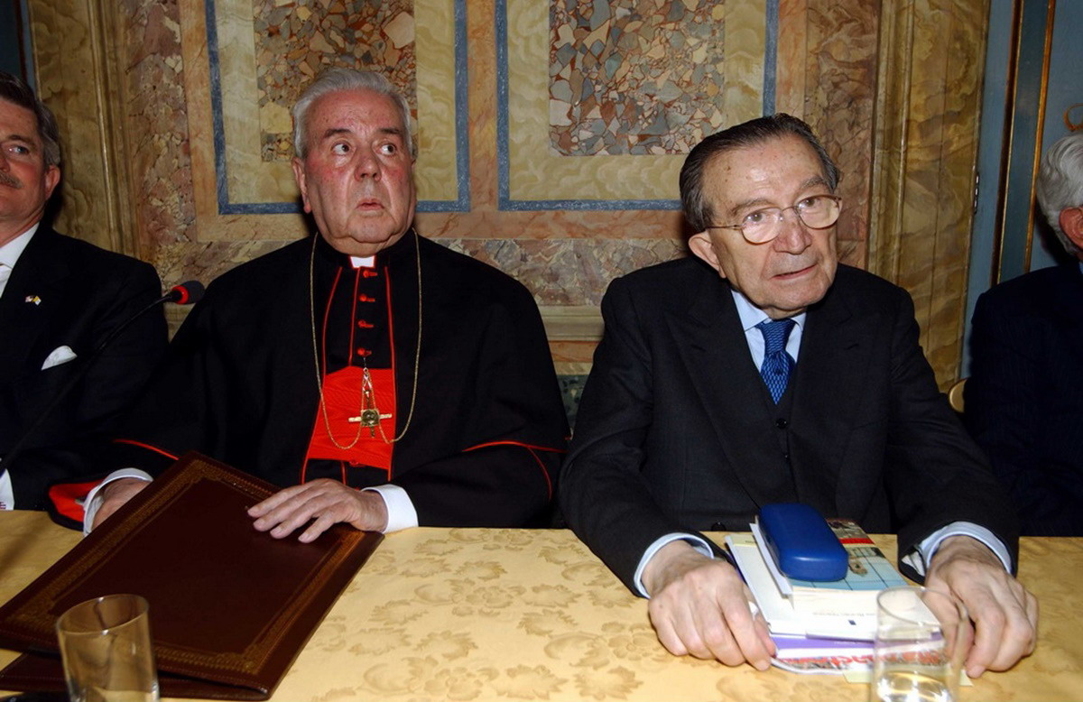 Fiorenzo Angelini, Giulio Andreotti