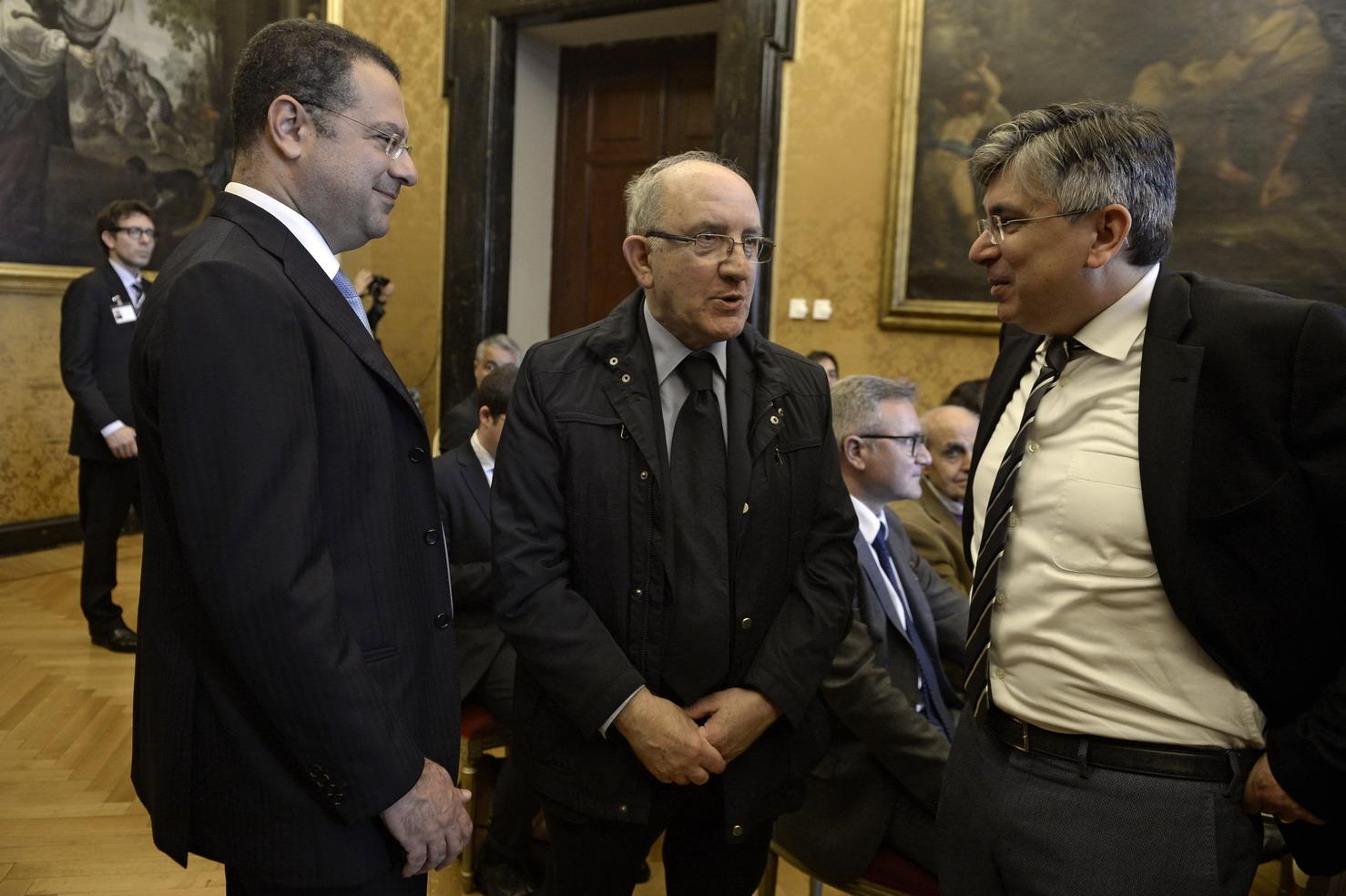 Paolo Messa, Mario Tassone, Paolo Gheda
