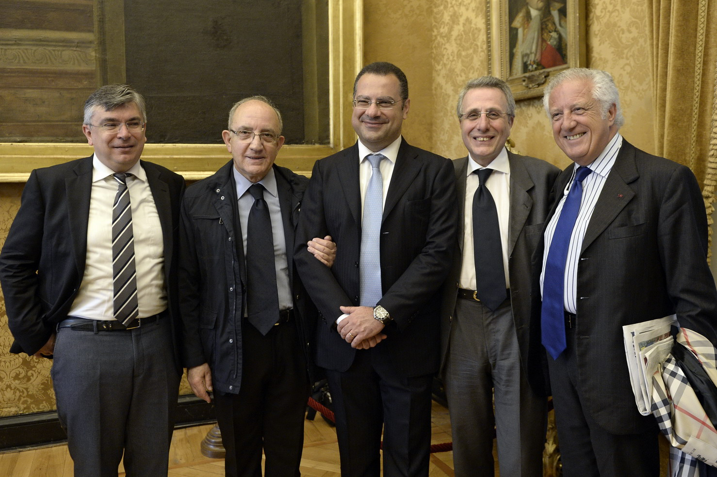 Paolo Gheda, Mario Tassone, Paolo Messa, Mario Caligiuri, Paolo Naccarato