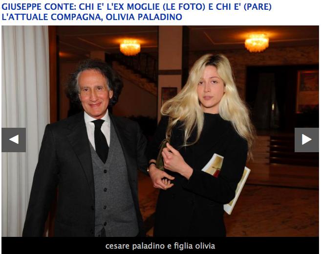 Chi E Olivia Paladino L Affascinante Fidanzata Del Premier Conte Formiche Net