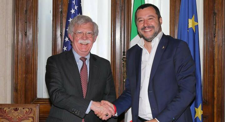 Italia sempre più vicina a Trump. Il primo bilancio della visita di Bolton a Roma