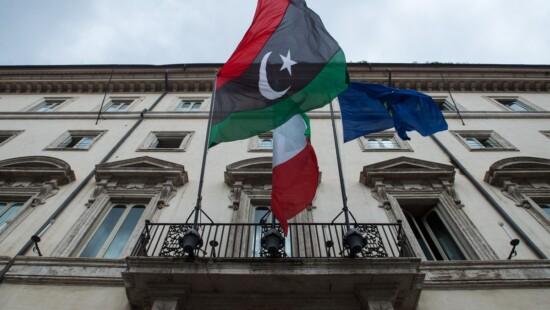 sarraj libia palermo, no-fly zone