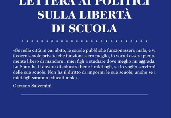 Lettera ai politici sulla libertà di scuola. (Antiseri-Alfieri)