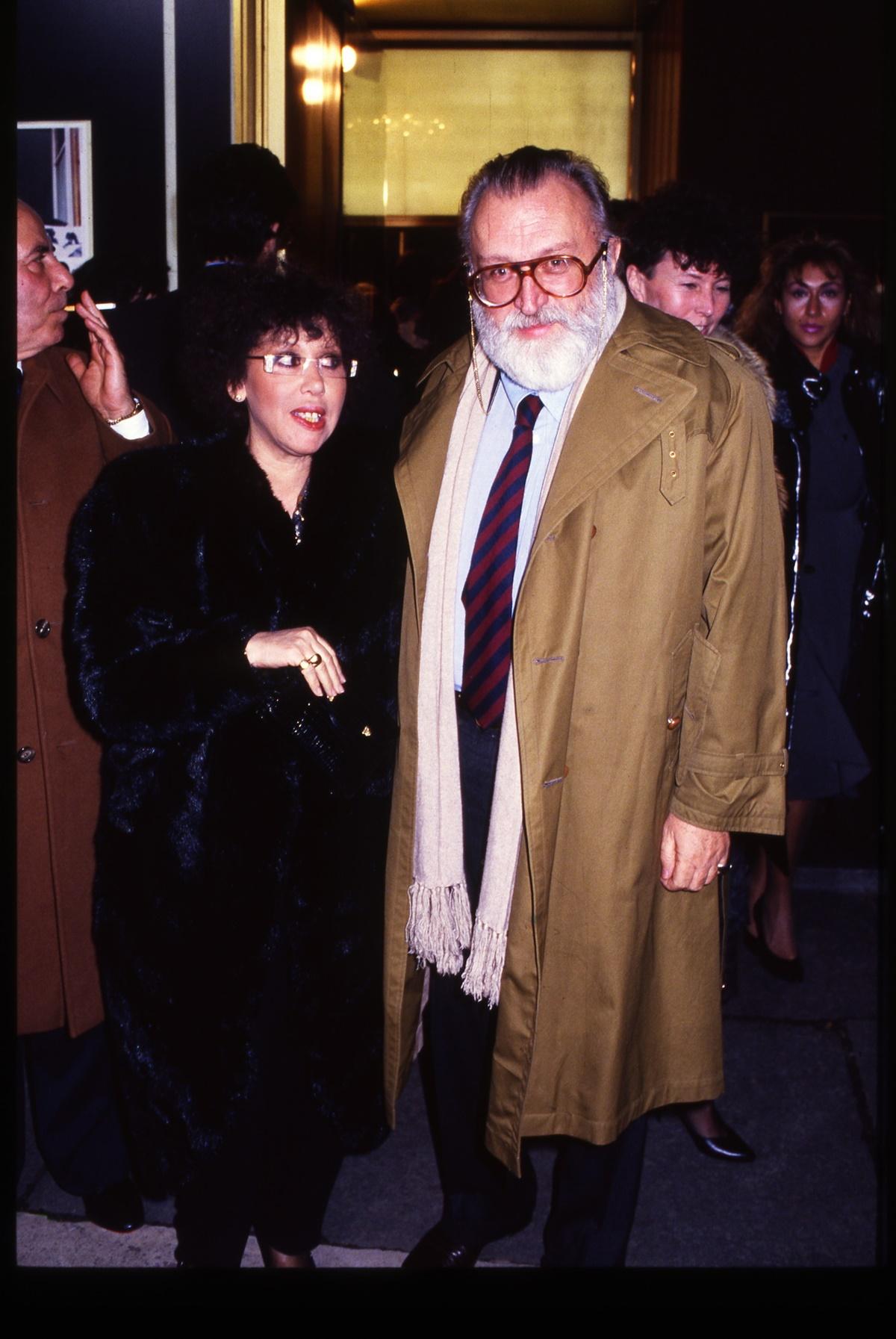 Carla e Sergio Leone