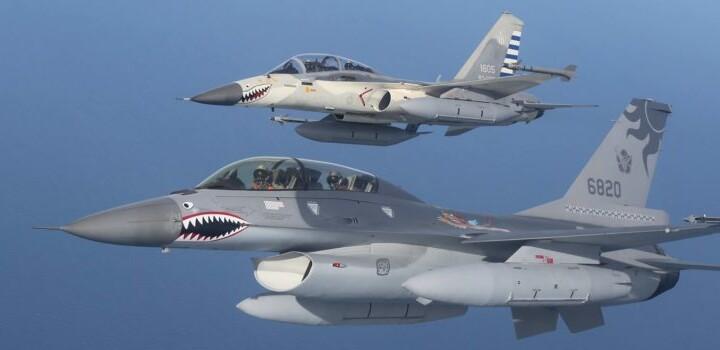 Dopo il blitz cinese con due jet da combattimento, Washington addestra Taiwan per gli F-16