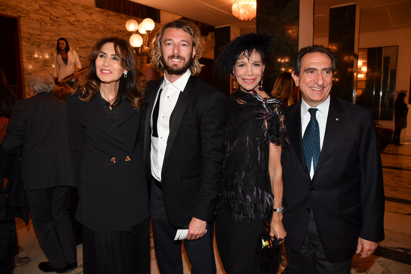 Maria Pia Ruspoli, Federico Balzaretti, Marisela Federici, Carlo Fuertes