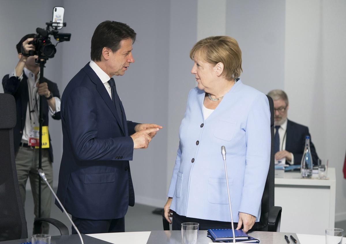 La condizione di Conte e le condizioni di Merkel. Il commento di Giacalone