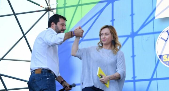 Un'operazione contro FdI. Così i meloniani leggono l'operazione Salvini-Cav