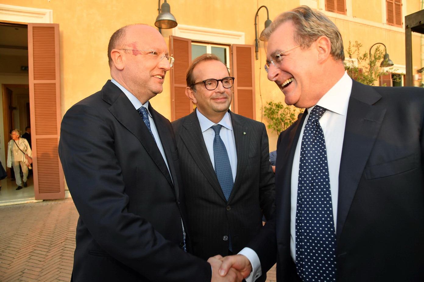 Filippo Totoriello, Vincenzo Boccia, Aurelio Regina