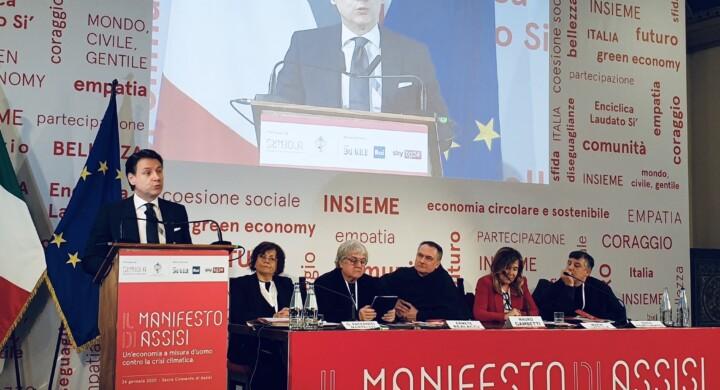 Sarà quello di Assisi il manifesto politico del contismo?