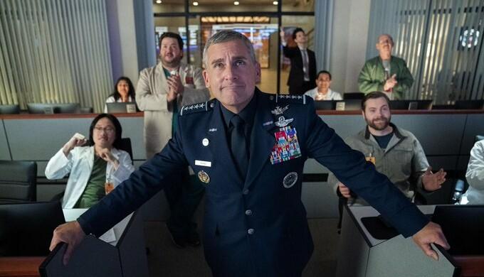 La Space Force di Trump diventa serie tv. Ma la realtà è già oltre