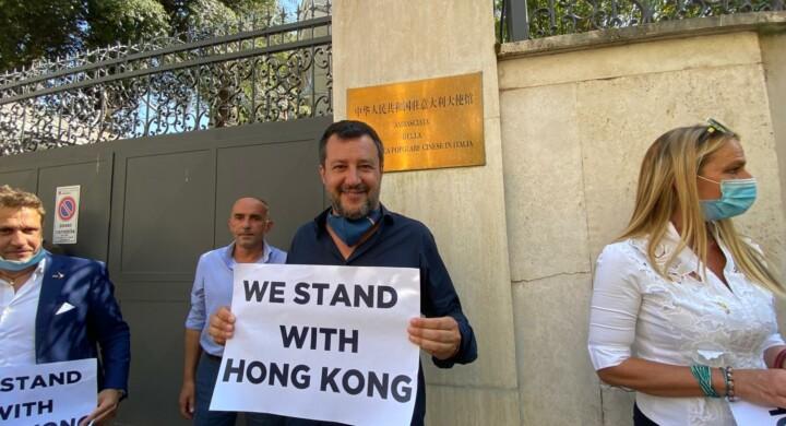 Did someone say Hong Kong? China's crackdown divides Italy