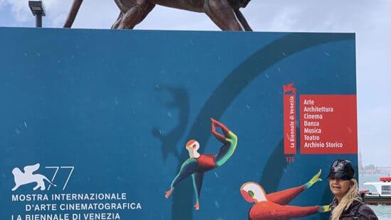 Fabiola Cinque a Venezia 77 Mostra del Cinema 2020