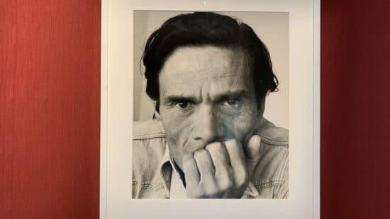 Mostra di SGARBI a Sutri ritratto di Pasolini
