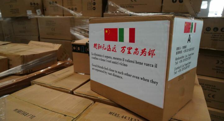 Propaganda made in China. Italy at a crossroads