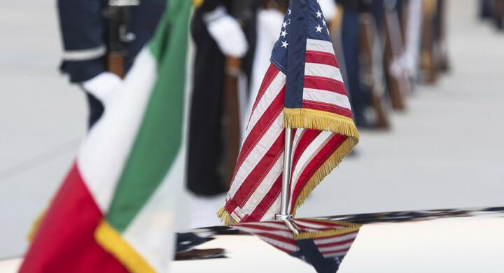Macron? Non turba l'asse militare fra Italia e Usa. Parola di Eisenberg e Guerini