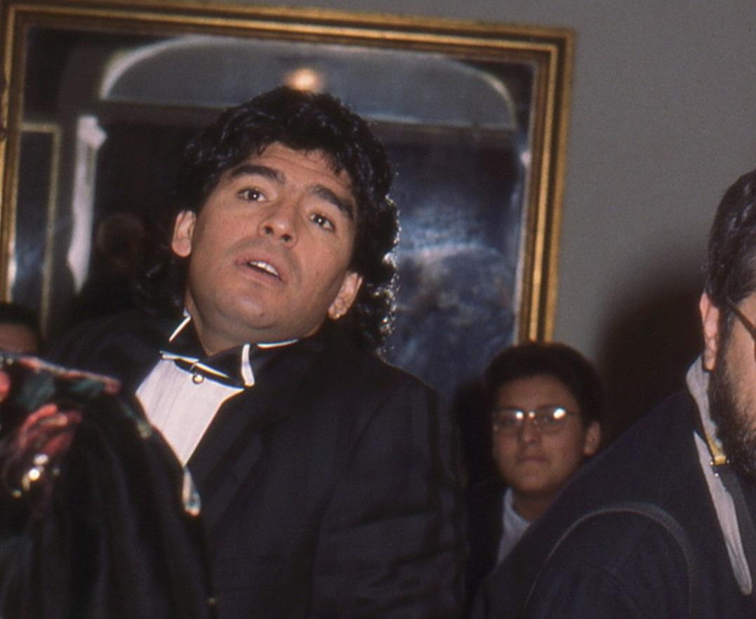 Diego Armando Maradona, addio al Pibe de Oro. Foto d'archivio Pizzi