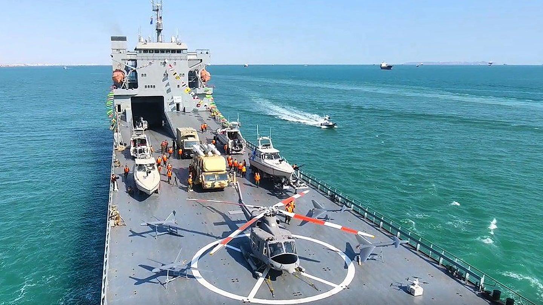 Droni, missili ed elicotteri. Tutte le armi sulla nave dell'Iran (costruita in Italia)