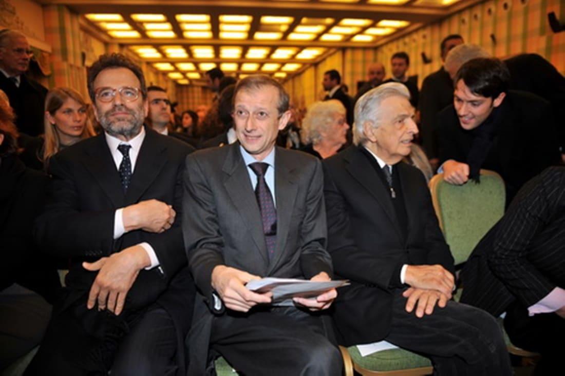 Umberto Ranieri, Piero Fassino, Furio Colombo