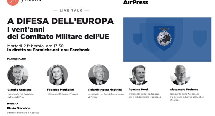 A Difesa dell'Europa. Video in diretta