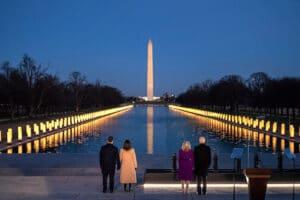 Inauguration Day 2021, tutte le foto (social) dell'insediamento di Biden