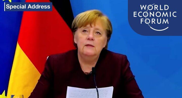 Digital tax e Cina. Merkel a Davos parla a Xi, Ursula punge Biden