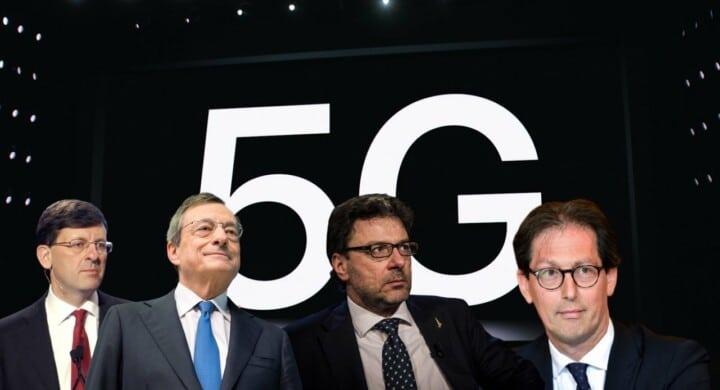 Draghi e il 5G. Da Giorgetti a Colao, chi avrà l'ultima parola