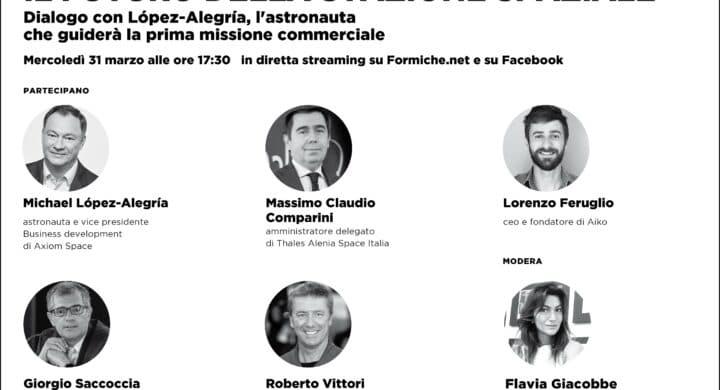Il futuro commerciale della Stazione spaziale. Dialogo con López-Alegría