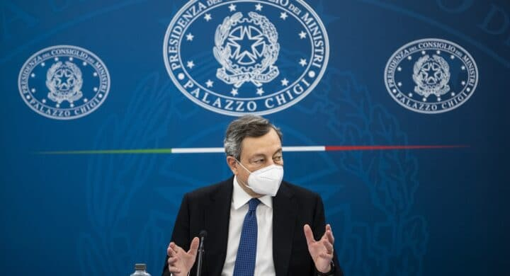 Draghi sides with US on Chinese 5G concerns