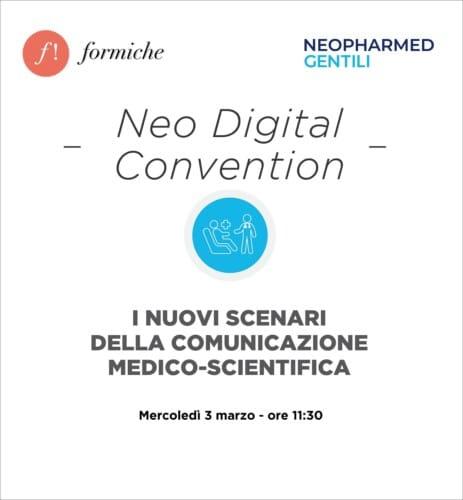 Neo Digital Convention. I nuovi scenari della comunicazione medico scientifica