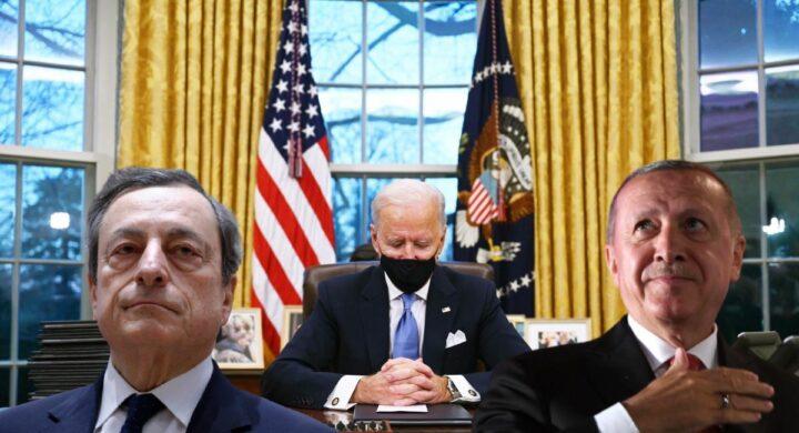 Perché Draghi è l'ancora euroatlantica di Erdogan