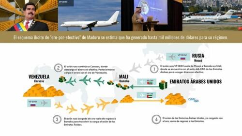 El Dorado di Maduro. L'itinerario (illegale) per vendere l'oro del Venezuela
