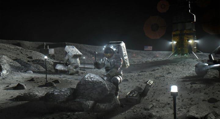 Come vivere sulla Luna? Lo studio di Thales Alenia Space